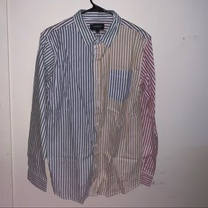 Multi-Color Striped PacSun Long Sleeved Shirt